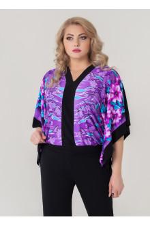"Блуза ""Анкара"" Sparada (Фиолет/цветы)"