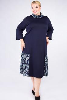 """Платье """"Артесса"""" PP71006DBL44 (Темно-синий)"""