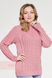 Джемпер женский 182-4767 Фемина (Розовая дымка)