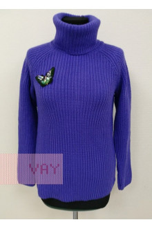 Джемпер женский 182-4762 Фемина (Фиолетовый)