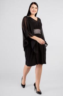 """Платье """"Артесса"""" PP38007BLK60 (Черный)"""