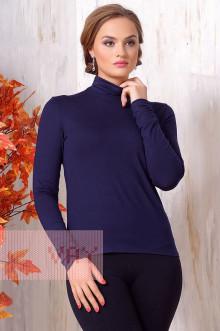 Блуза ВК-19 Фемина (Темно-синий)