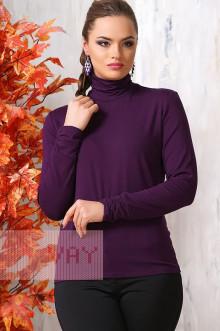 Блуза ВК-19 Фемина (Баклажан)