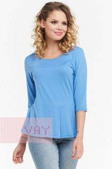 Блузка женская 181-3436 Фемина (Ярко-голубой)