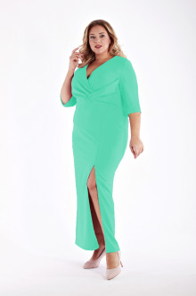 Платье 1213206 ЛаТэ (Ментоловый)