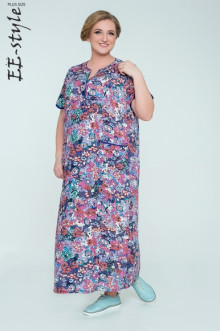 """Платье """"Её-стиль"""" 2032 ЕЁ-стиль (Сирень)"""