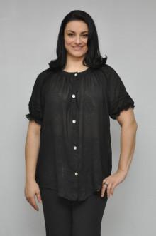 """Блуза """"Олси"""" 1210003.3 ОЛСИ (Черный)"""