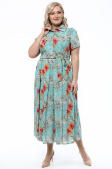 Платье 1733-908 Грация Стиля (Бирюза)