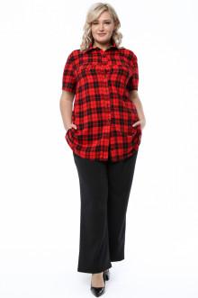 Рубашка 1245-632 Грация Стиля (Красный)